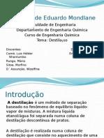 Slide Destilacao