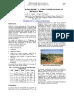 El Estado Actual de Las Cuencas y Acumulación de Azolve en Los Distritos de Riego