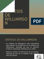 Síntesis de Williamson