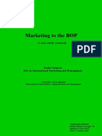 Marketing to the BOP