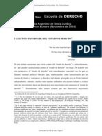 N° 5 La lectura mayoritaria del Estado de Derecho - Roberto Gargarella