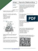 Questões - Biologia (Citologia - Organelas Citoplasmáticas) - Formatado