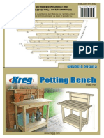 Kreg Jig Potting Bench instructions