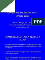 Competencias Legales en La Tercera Edad