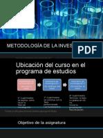 1. Metodología de La Investigación