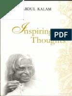 Inspiring Thoughts by Dr. APJ Abdul Kalam