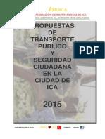 Propuesta Transporte Publico de Ica - 2015