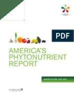 America Phytonutrient Report (Nutrilite)