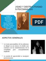 La Agresividad y Destructividad en Psicoanalisis (1)