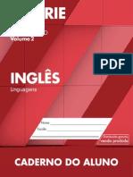 Caderno do Aluno Inglês 2 ano vol 2 2014-2017