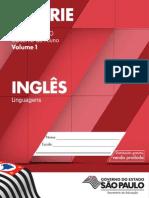 Caderno do Aluno Inglês 3 ano vol 1 2014-2017
