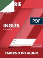 Caderno do Aluno Inglês 3 ano vol 2 2014-2017