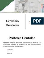 Protesis removibles