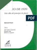 El Giro de 1920 Freud S. 1999 JC Cosentino