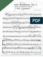 PMLP80958-Villa-Lobos Bachianas Brasileiras No.5 Cello III