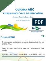 EMBRAPA-Alysson ABC Fixação Biológica Nitrogênio