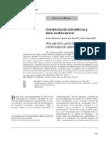 Cont. Atmosferica y Daño Cardiovascular