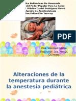 Alteracion de La Temperatura Semi Pediatria