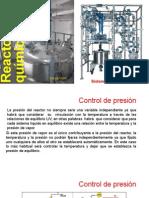 Sistemas de Control en Los Reactores Quimicos de Liquidos