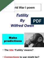 futility poem analysis