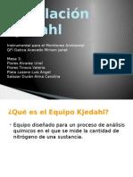 EQ. 3 Equipo Kjeldahl