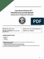 final evaluation- 2013