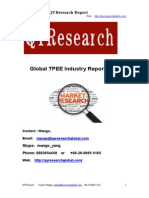 Global TPEE Industry Report 2015