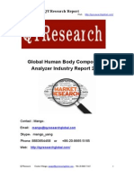Global Human Body Composition Analyzer Industry Report 2015