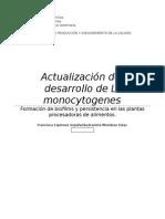 Actualización L. monocytogenes