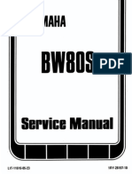 BW80S Factory service manual