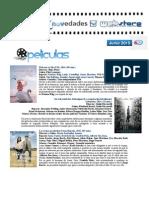 Catálogo de Cine Junio 2015-Películas