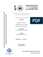 Proyecto de base de datos distribuidas