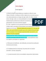 1.Catastro, Proceso Reforma Agraria