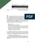 F. EUZONDO y EL ESTRENO DE LA (CONFLICTO CHINO EN UN ACTO) EN 1904 Alejandro O rtiz Bullé Goyri'