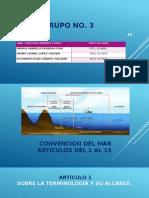 Grupo i Pre. Convención Del Mar Artículos Del 1 Al 15