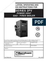 Burnham Series 2PV Install Instructions