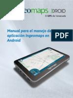 Manual GPS Ingeomaps DROID