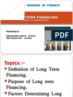 Long Term Financing1 - Main.pptx