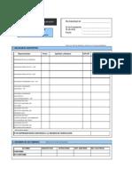 15.-Formulario Único de Edificación - FUE Acta de Verificación y Dictámen.