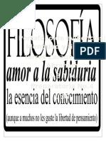 Amor a la filosofía