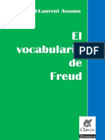 El Vocabulario de Freud . Assoun Paul Laurent