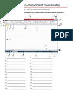 Entorno Excel 20101