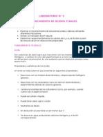 reconocimiento acidos y bases