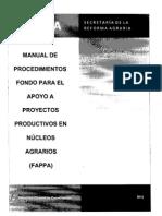 Manual de Procedimientos FAPPA 2012