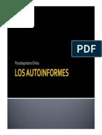 Los Autoinformes