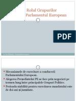 Tema 3 e28093 Rolul Grupurilor Politice c3aen Parlamentul