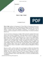 ABIN - Marco Cepik - Brasil - Curriculo de Marcos Cepik