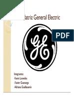 Matriz General Electric Presentacion Sc3b3lo Lectura