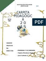 CARPETA-PEDAsGÓGICA-2015