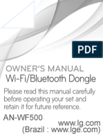 An-WF500 Owner Manual